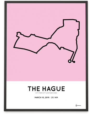 2019 CPC loop Den Haag parcours poster