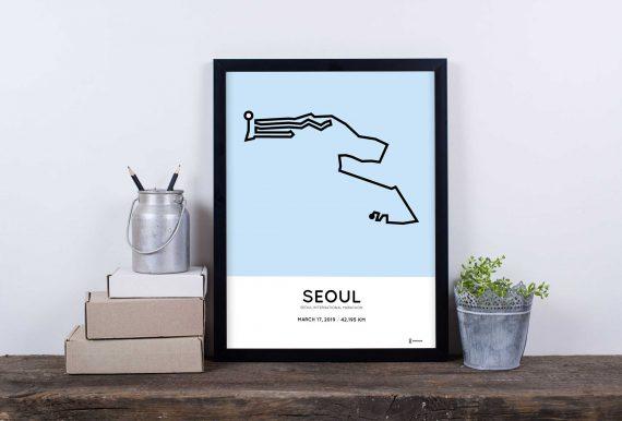 2019 seoul marathon marathonermap