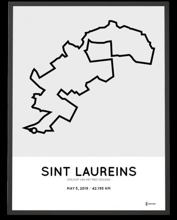2019 Omloop van het meetjesland route poster