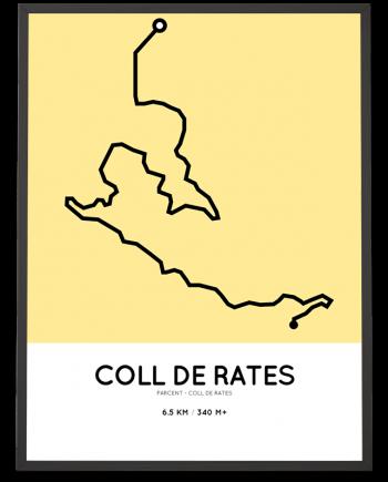 Coll de Rates parcours print