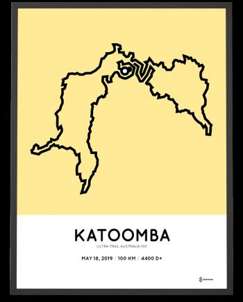 2019 ultra trail australia 100km katoomba course print
