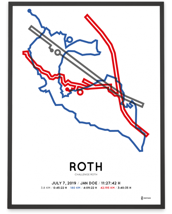 2019 challenge roth sportymaps course poster