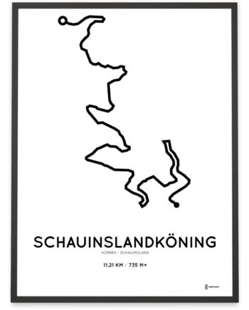 SchauinslandKoning cycling course poster