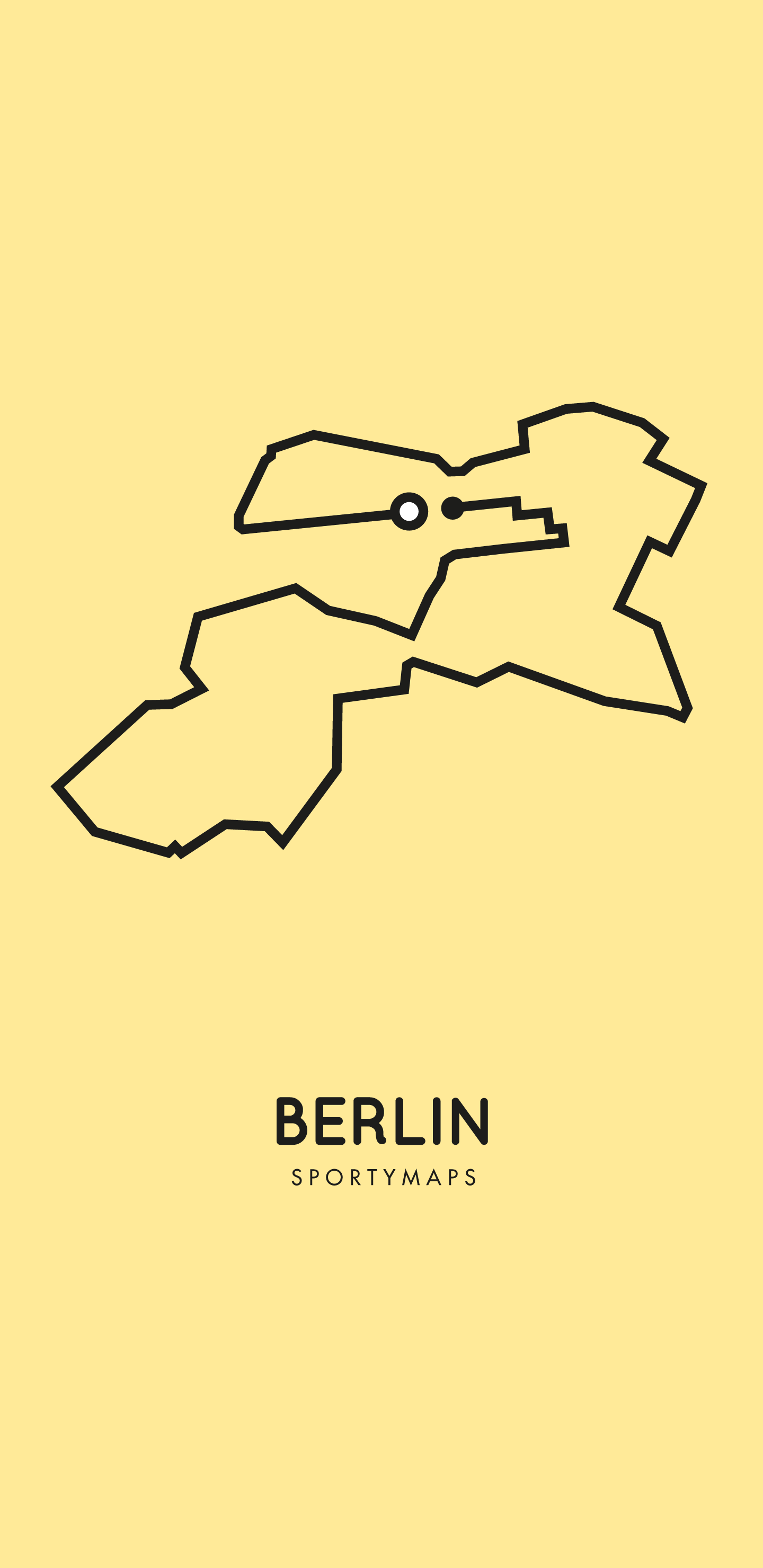 Sportymaps-Berlin-marathon-yellow
