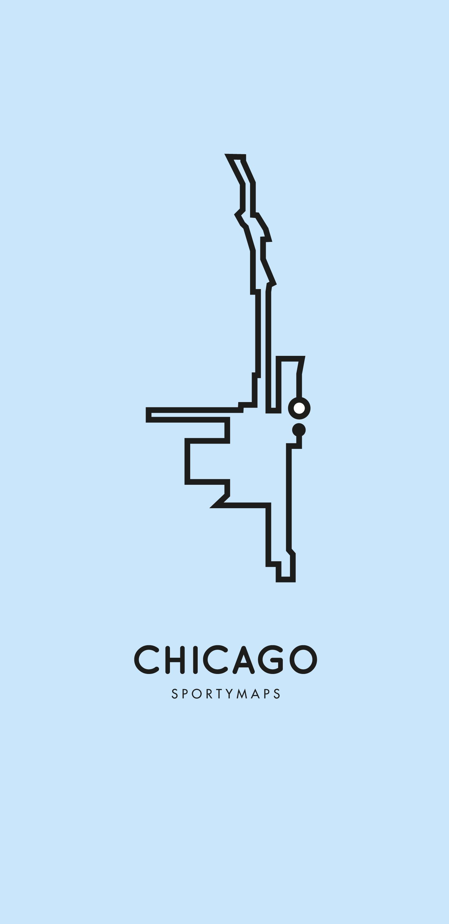 Sportymaps-Chicago-marathon-blue