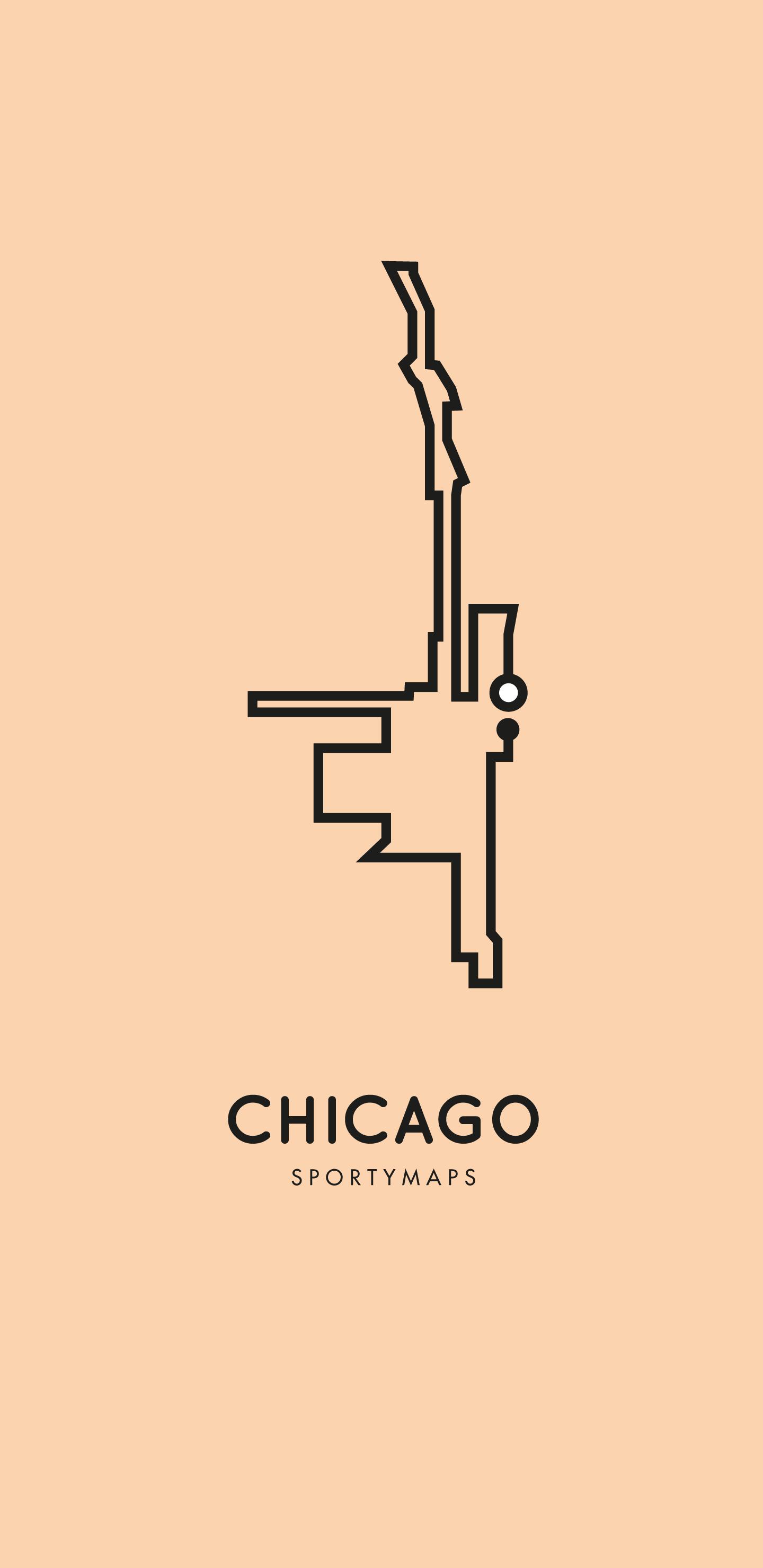 Sportymaps-Chicago-marathon-orange