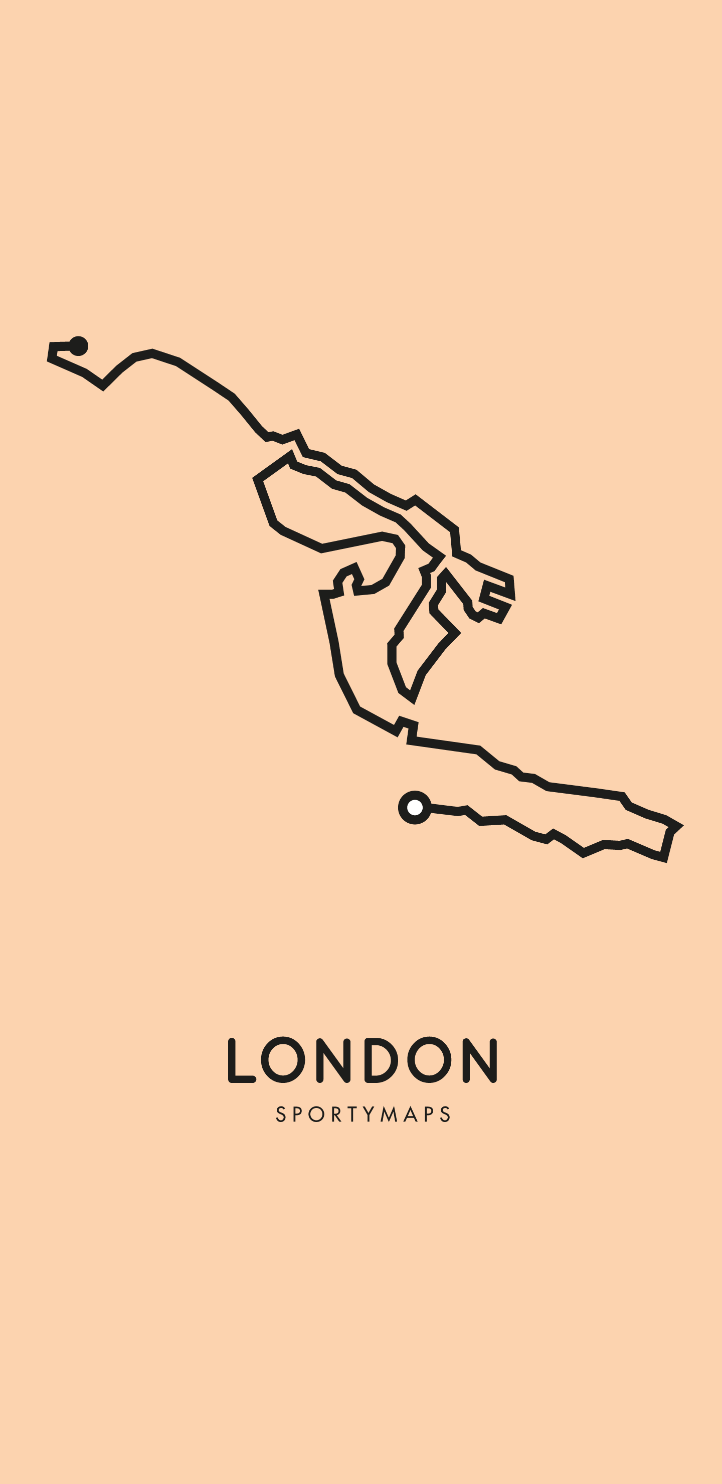 Sportymaps-London-marathon-orange