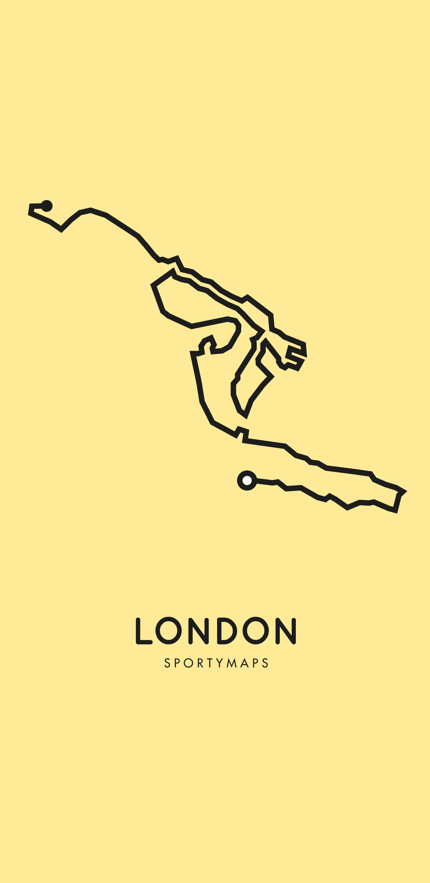 Sportymaps-London-marathon-yellow
