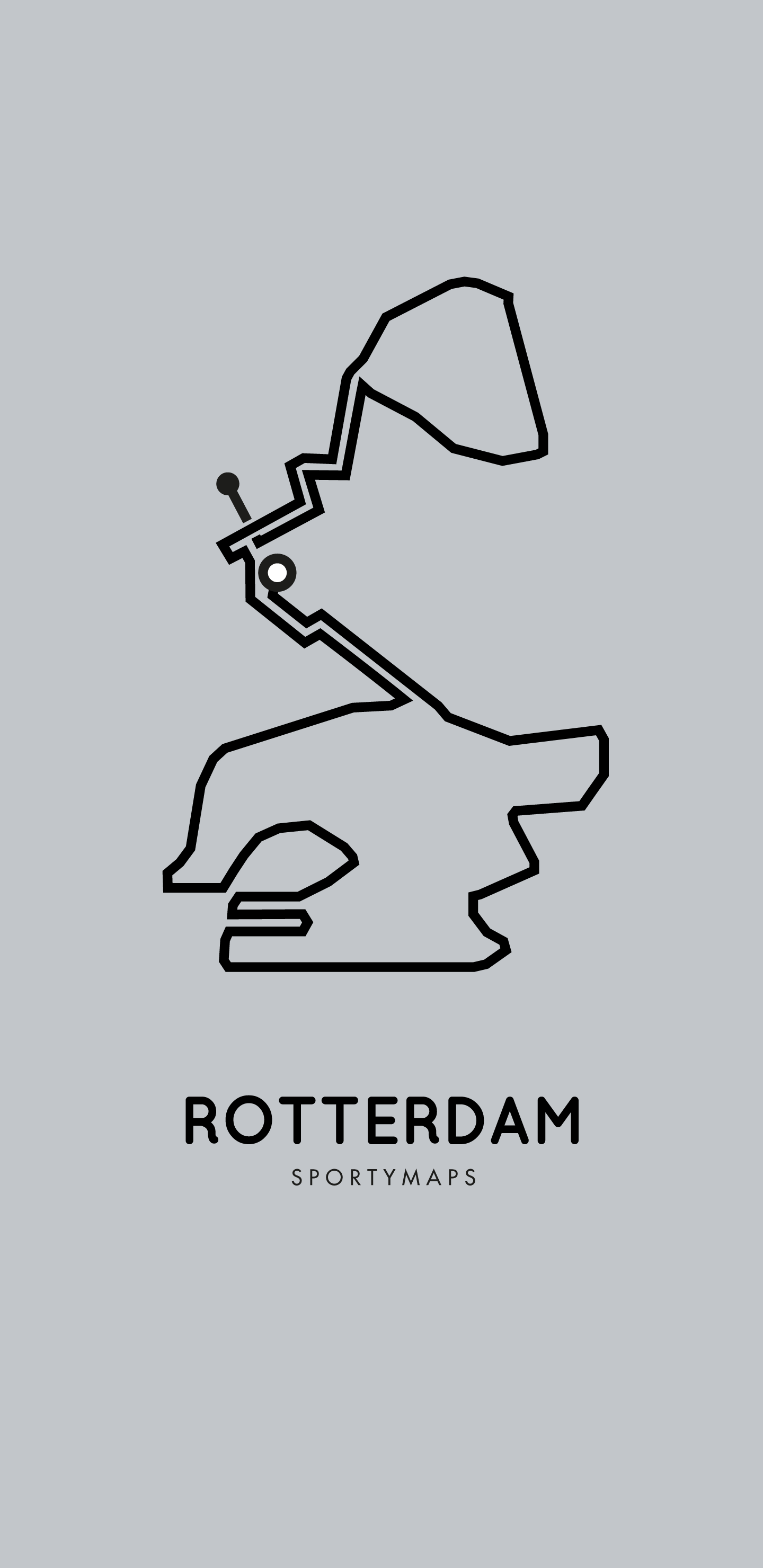 Sportymaps-Rotterdam-marathon-gray