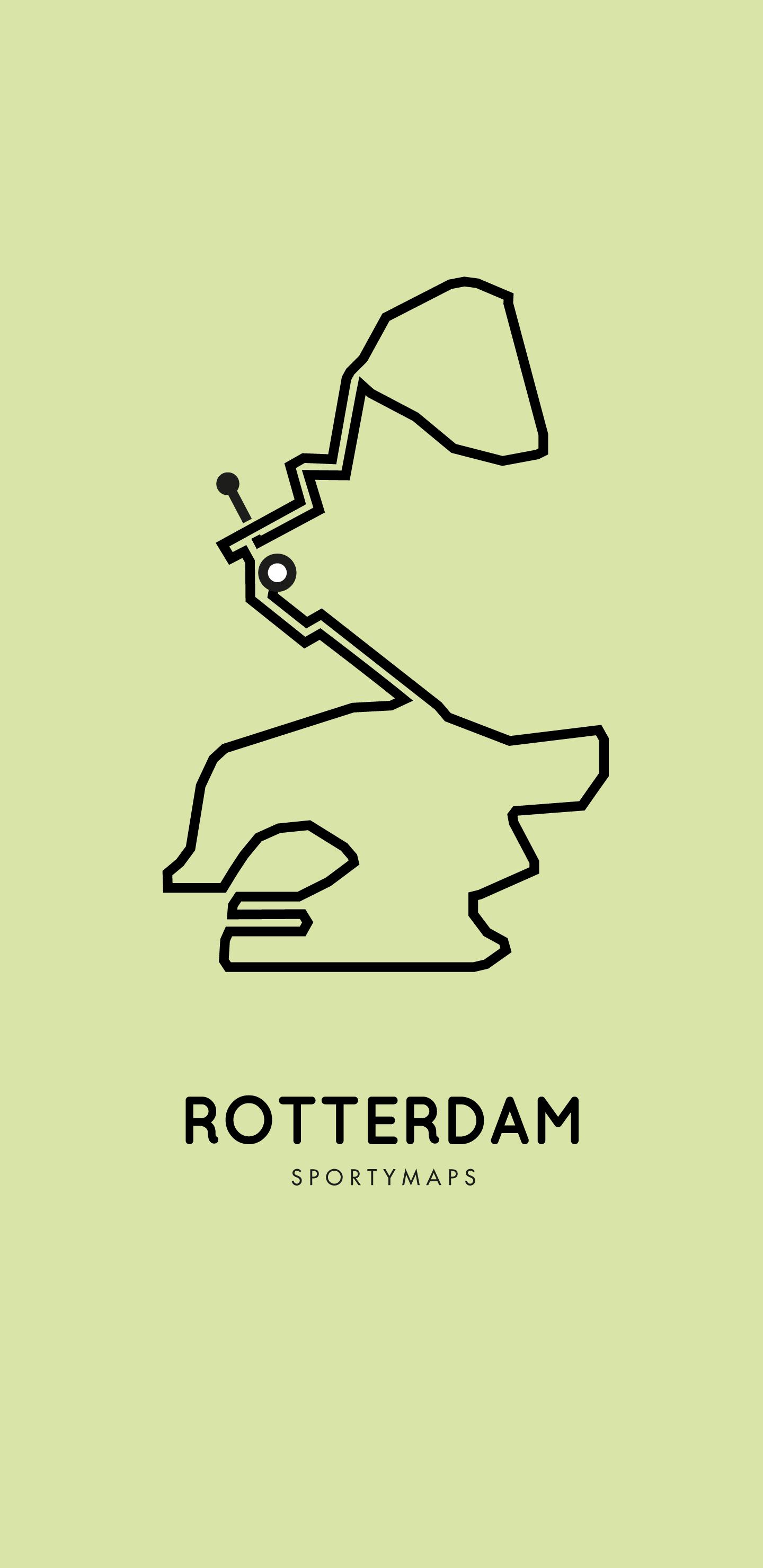 Sportymaps-Rotterdam-marathon-green