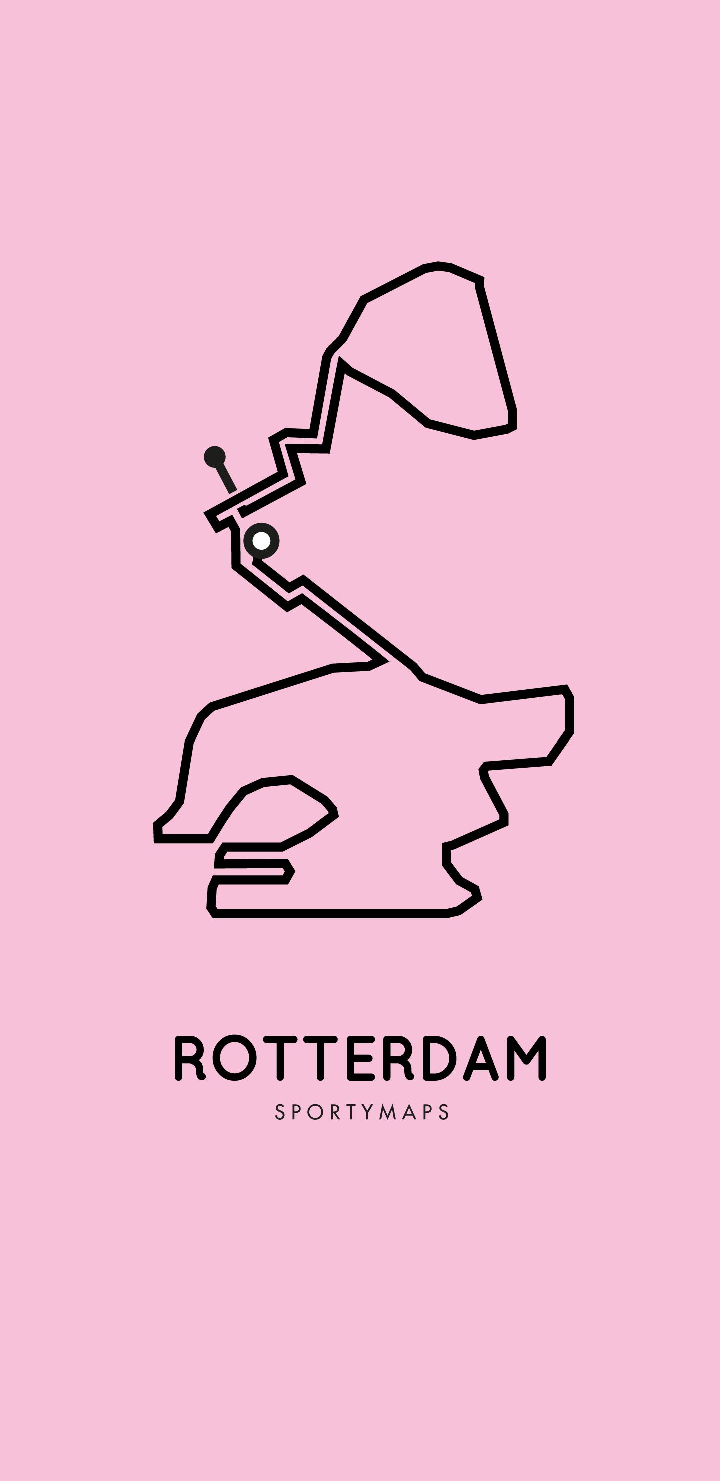 Sportymaps-Rotterdam-marathon-pink
