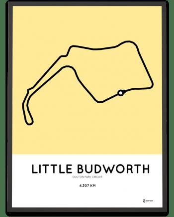 Oulton Park Circuit course poster