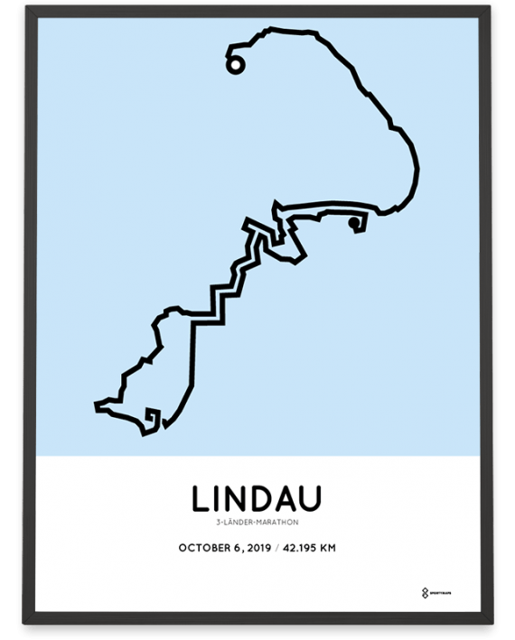 2019 3-laender-marathon strecke poster