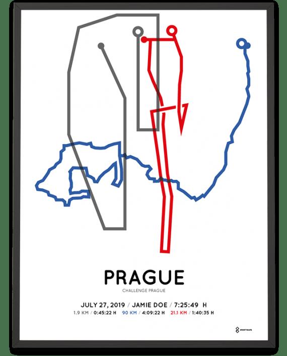 2019 Challenge Prague coursemap print