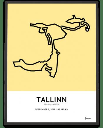 2019 Tallinn marathon marathonermap