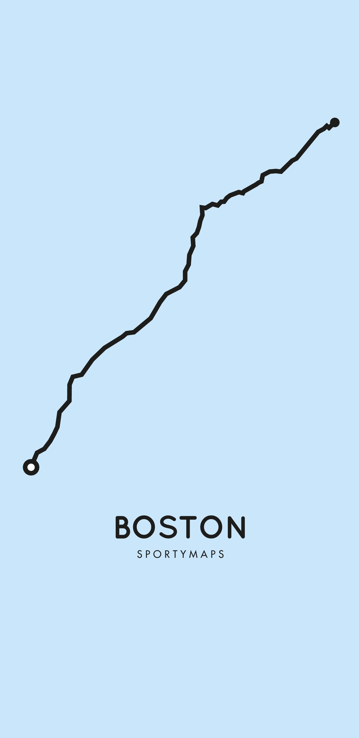 Sportymaps-Boston-marathon-blue