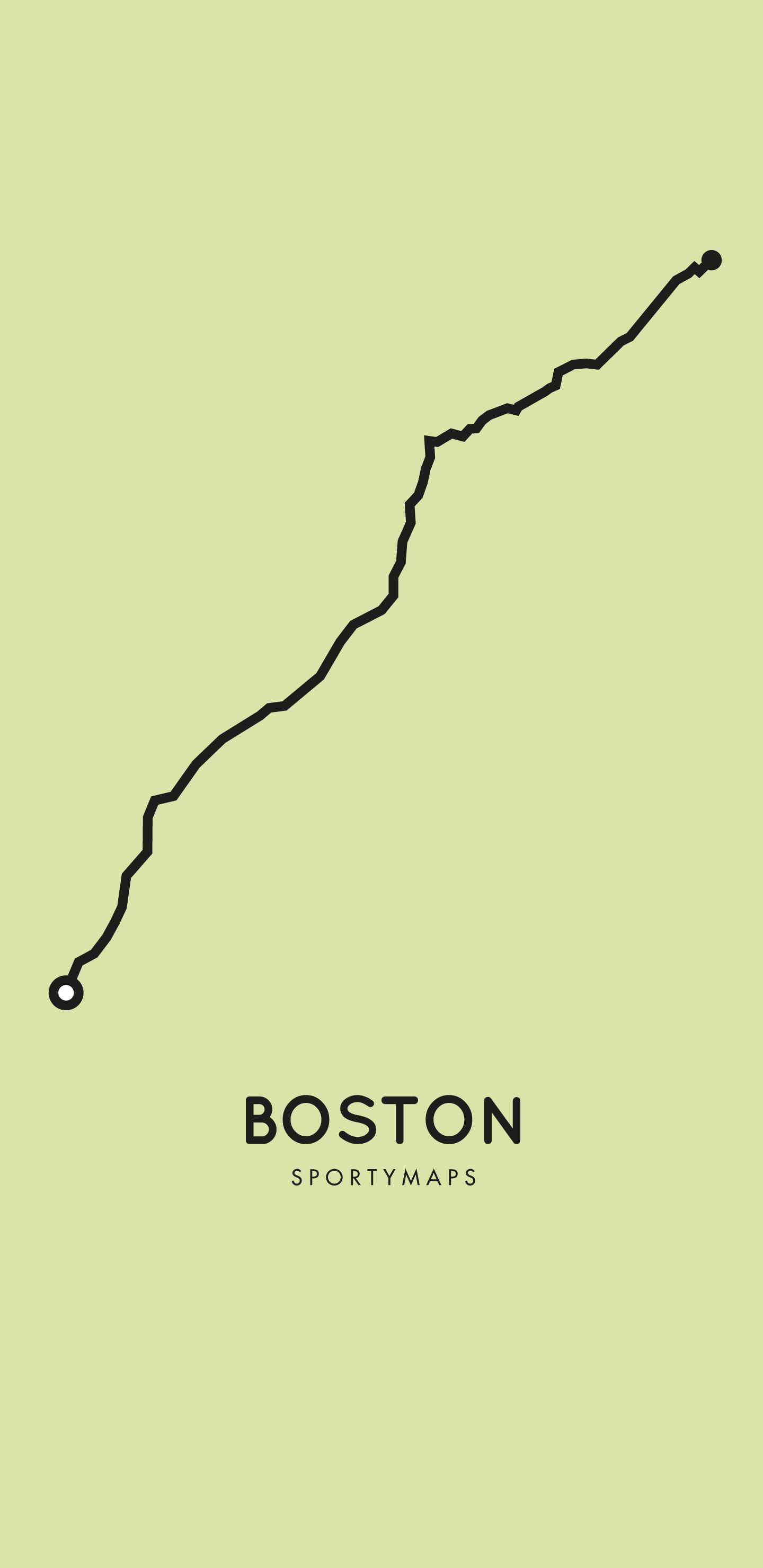 Sportymaps-Boston-marathon-green