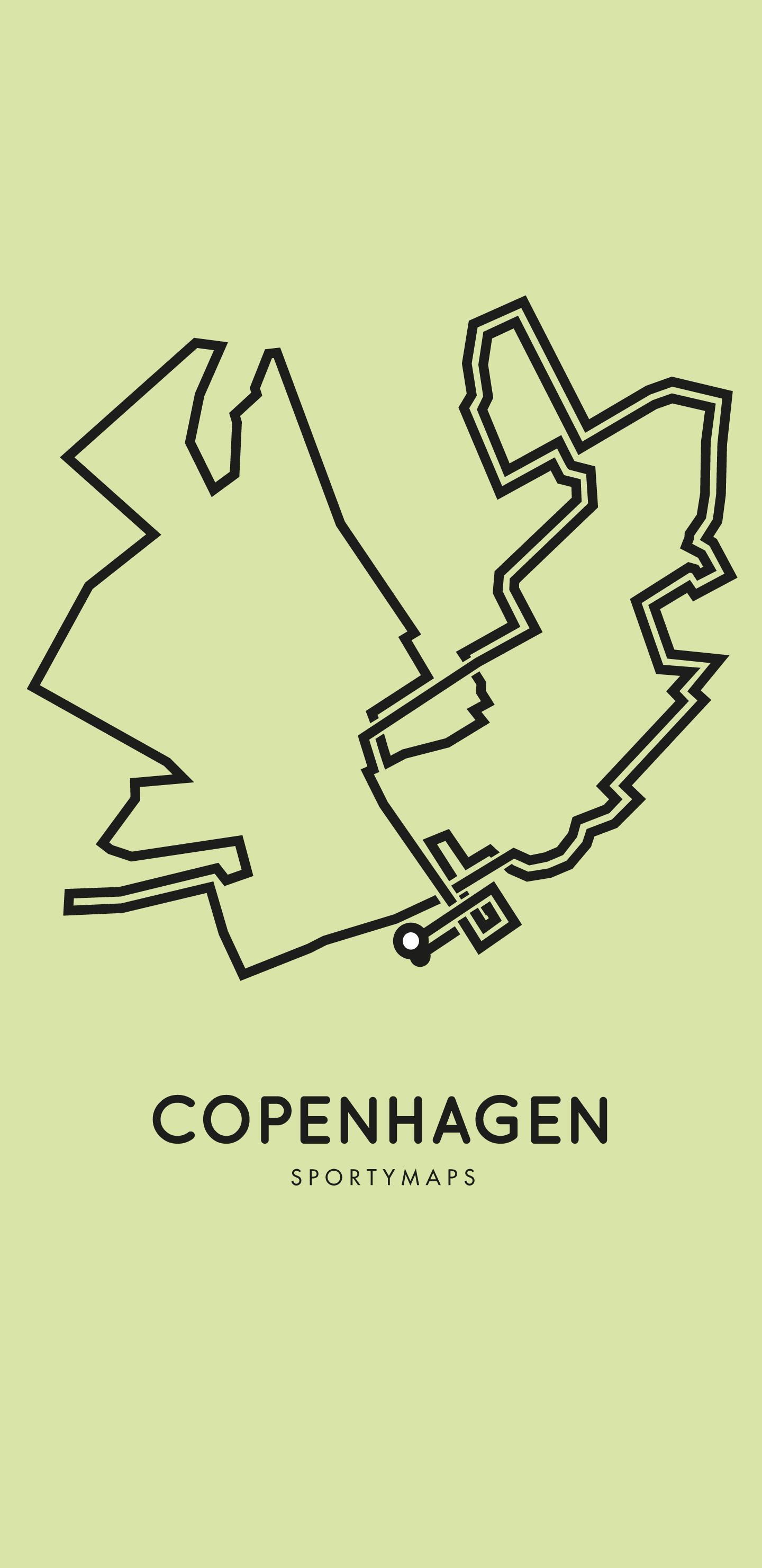 Sportymaps-Copenhagen-marathon-green
