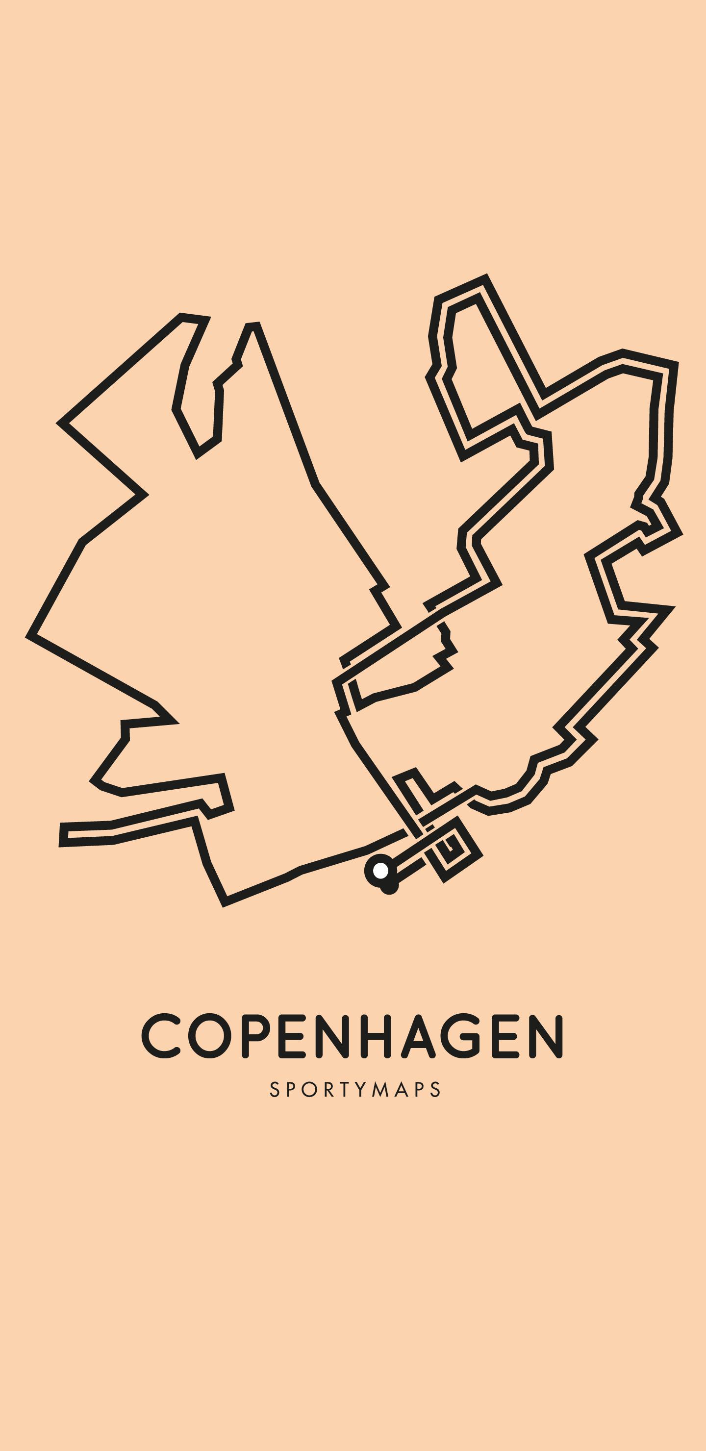 Sportymaps-Copenhagen-marathon-orange