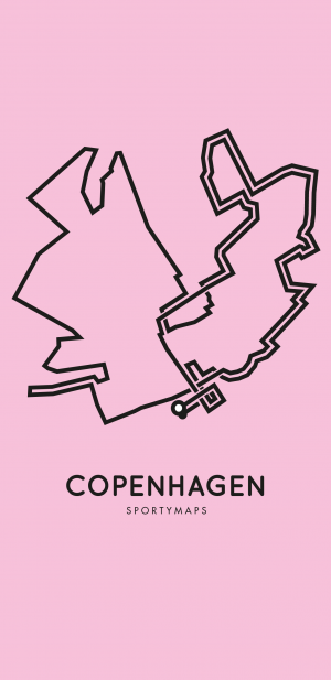 Sportymaps-Copenhagen-marathon-pink