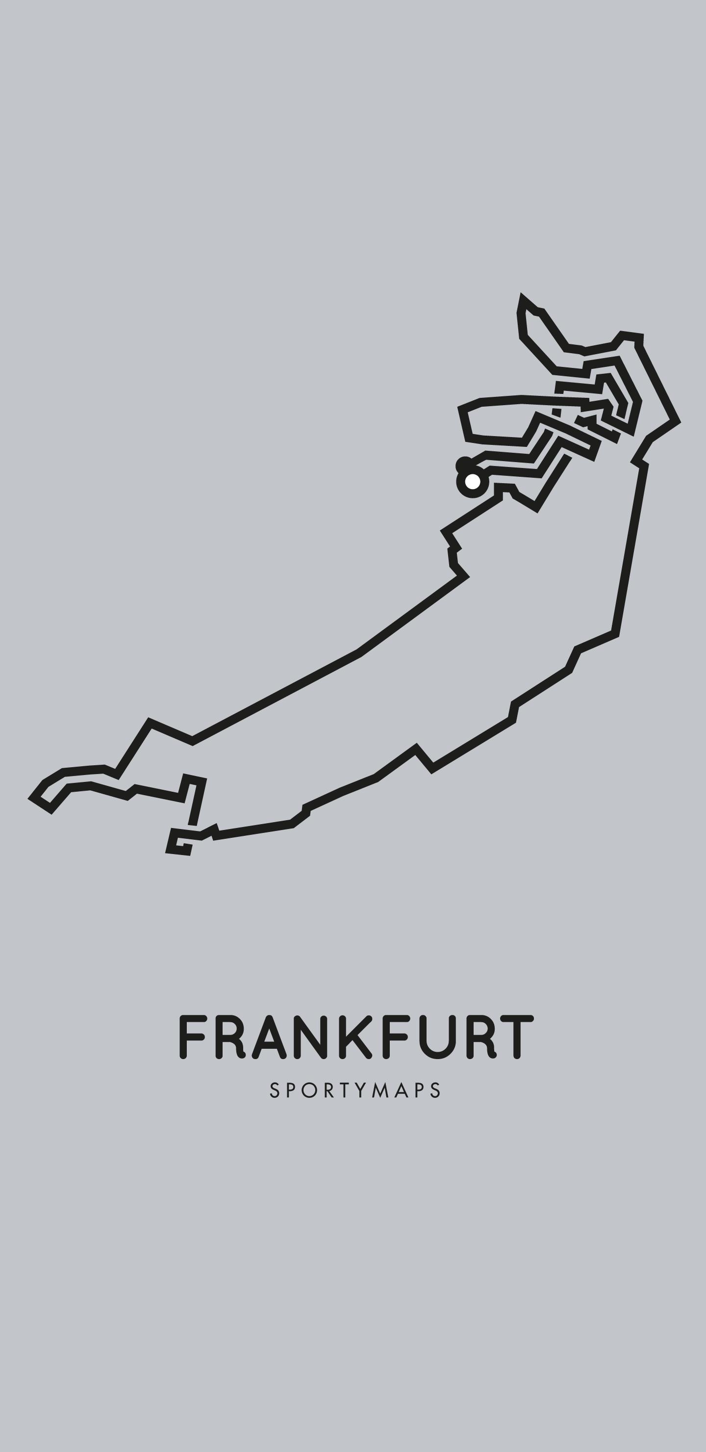Sportymaps-Frankfurt-marathon-gray