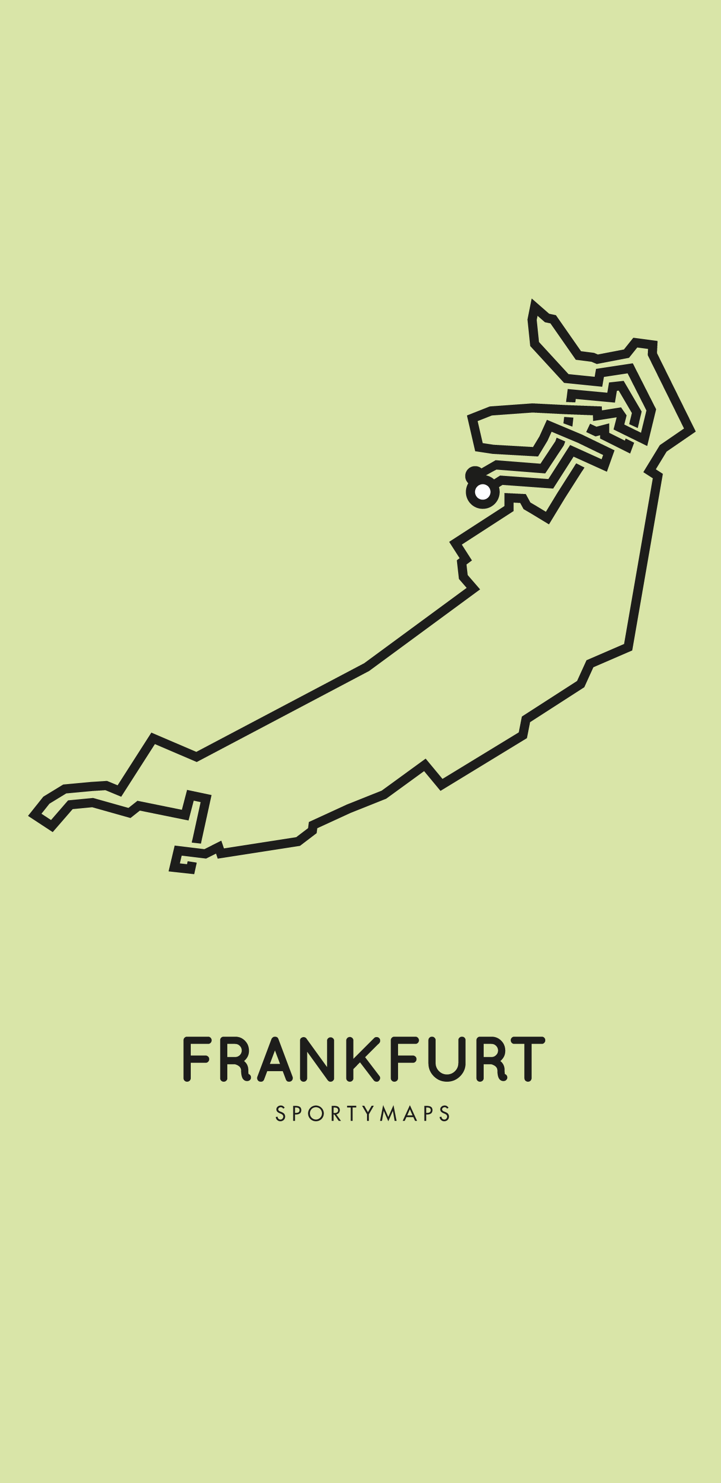 Sportymaps-Frankfurt-marathon-green