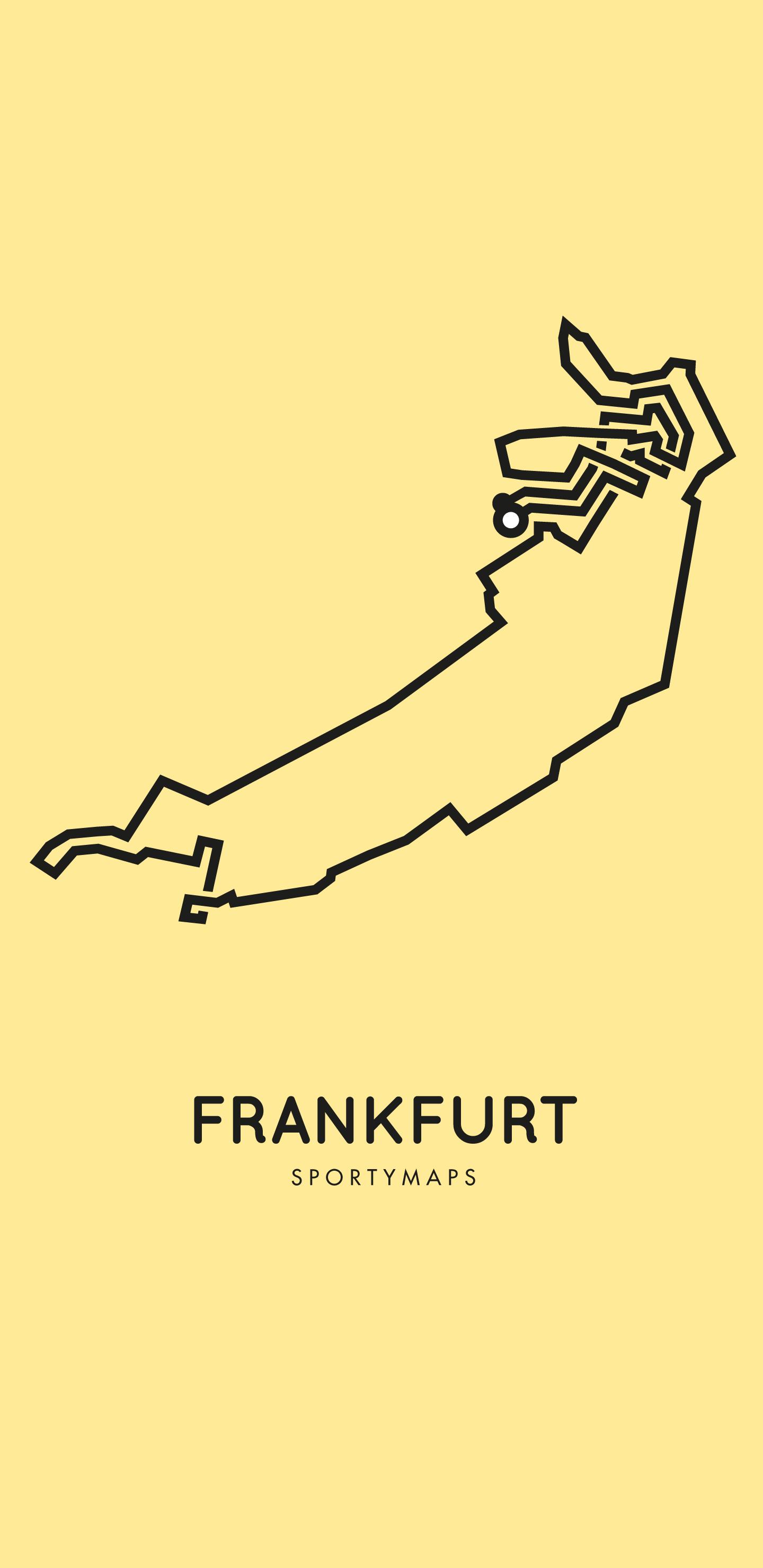 Sportymaps-Frankfurt-marathon-yellow