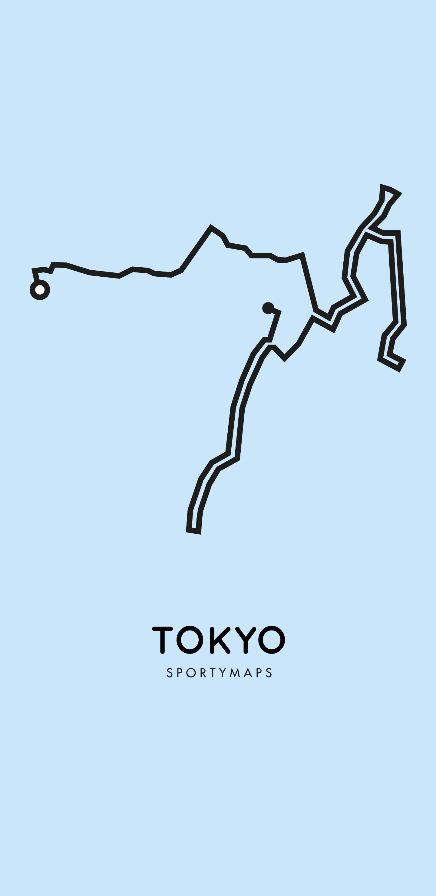Sportymaps-Tokyo-marathon-blue