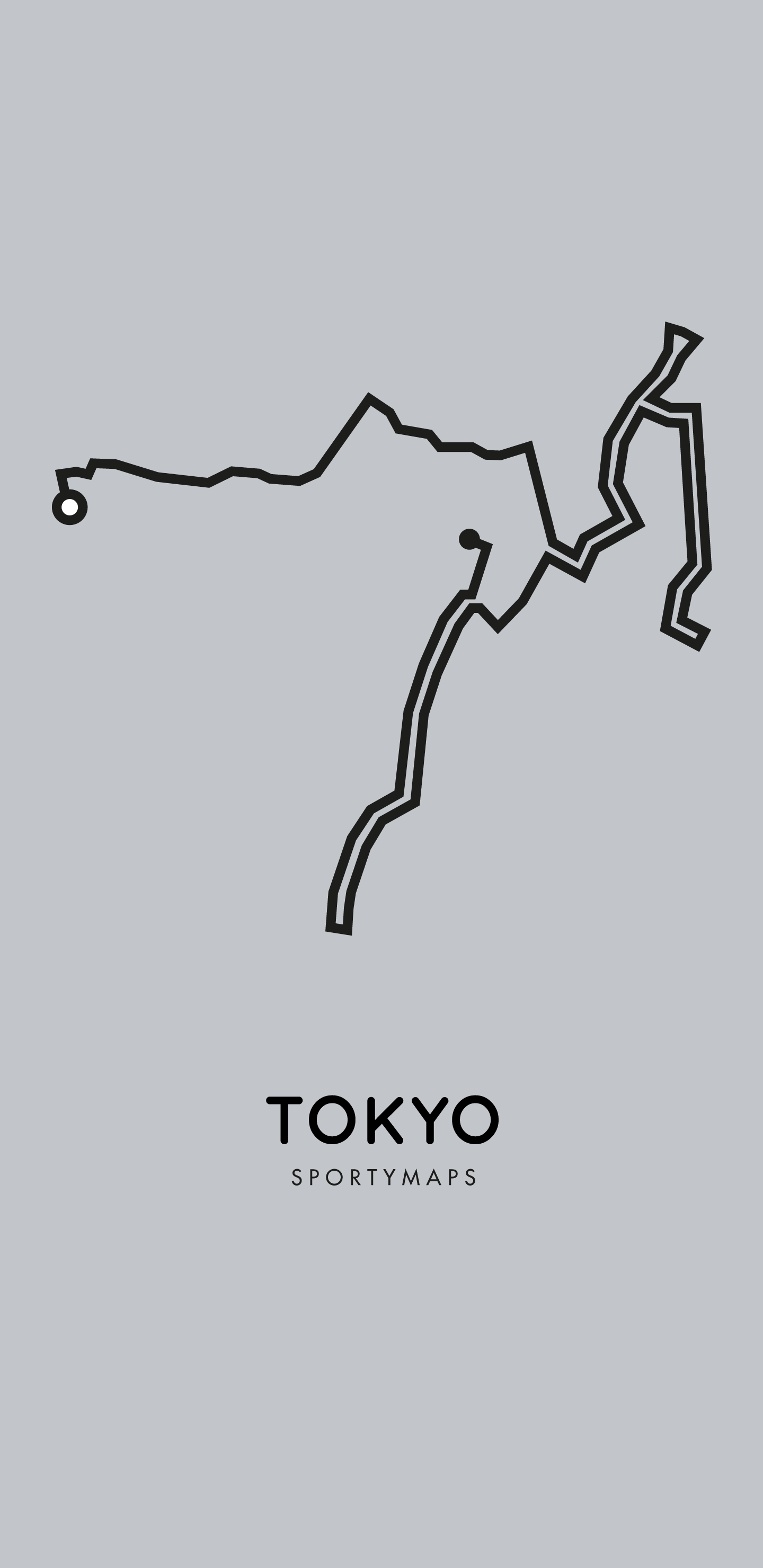 Sportymaps-Tokyo-marathon-gray