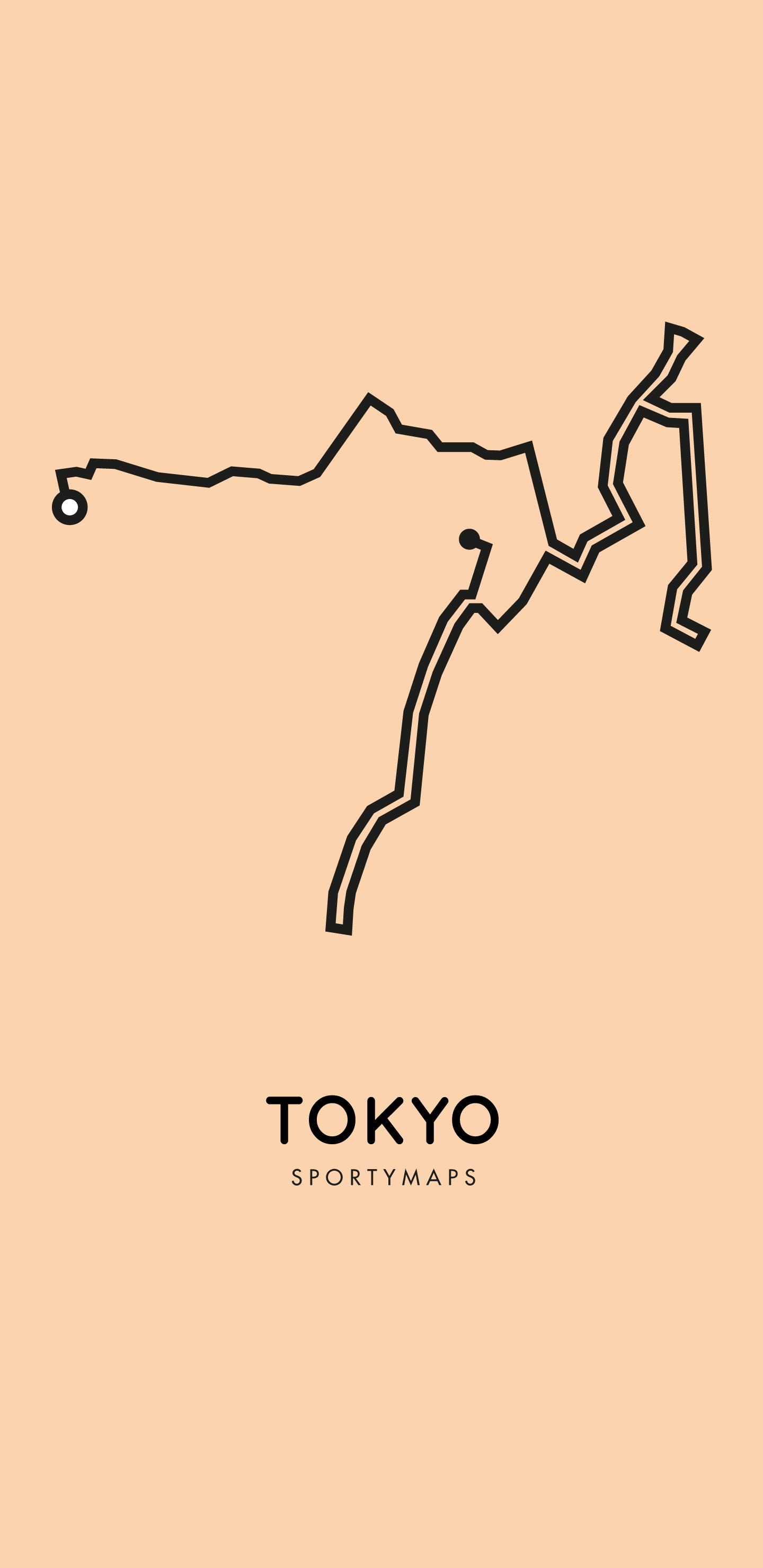 Sportymaps-Tokyo-marathon-orange