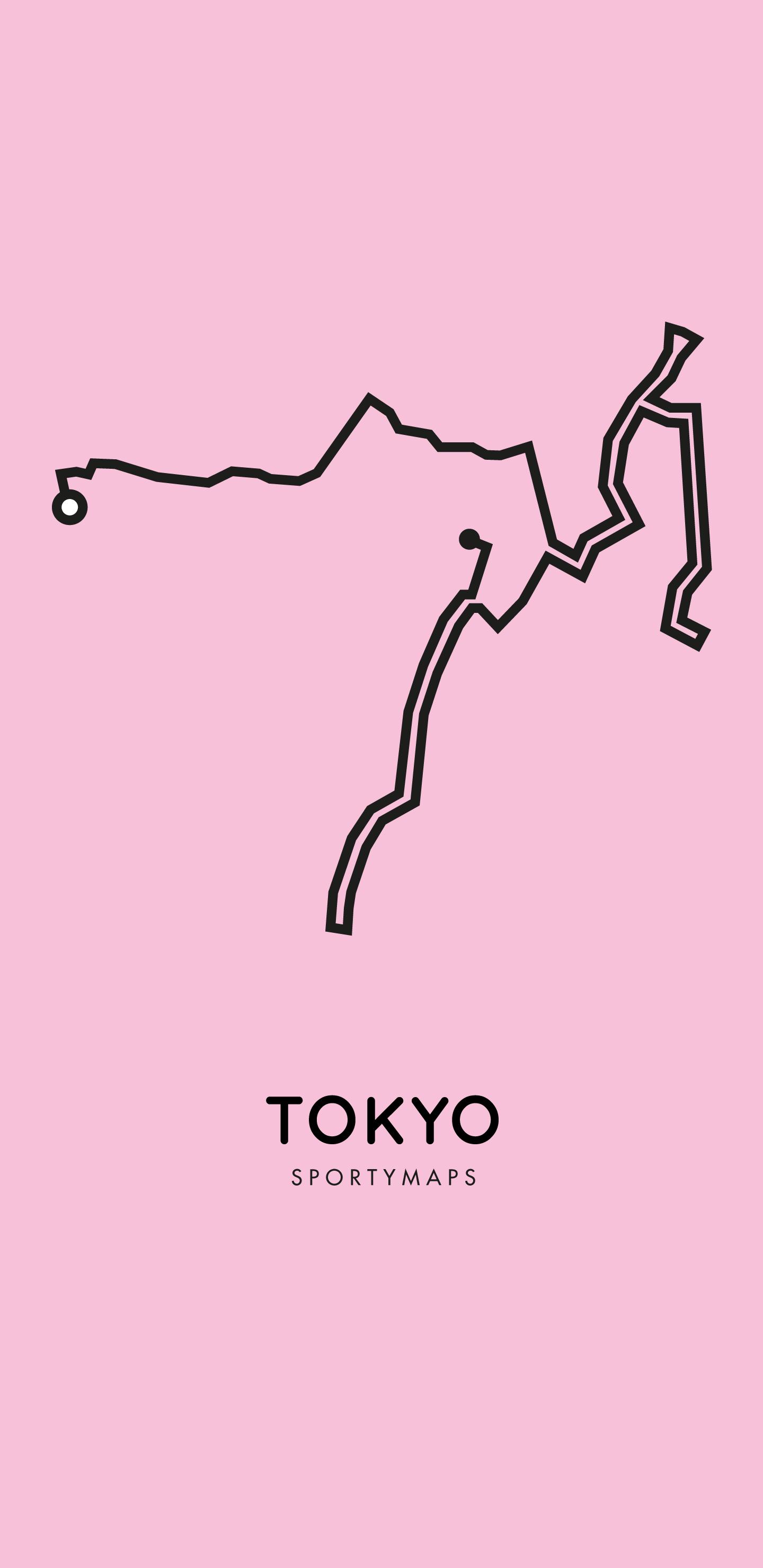 Sportymaps-Tokyo-marathon-pink