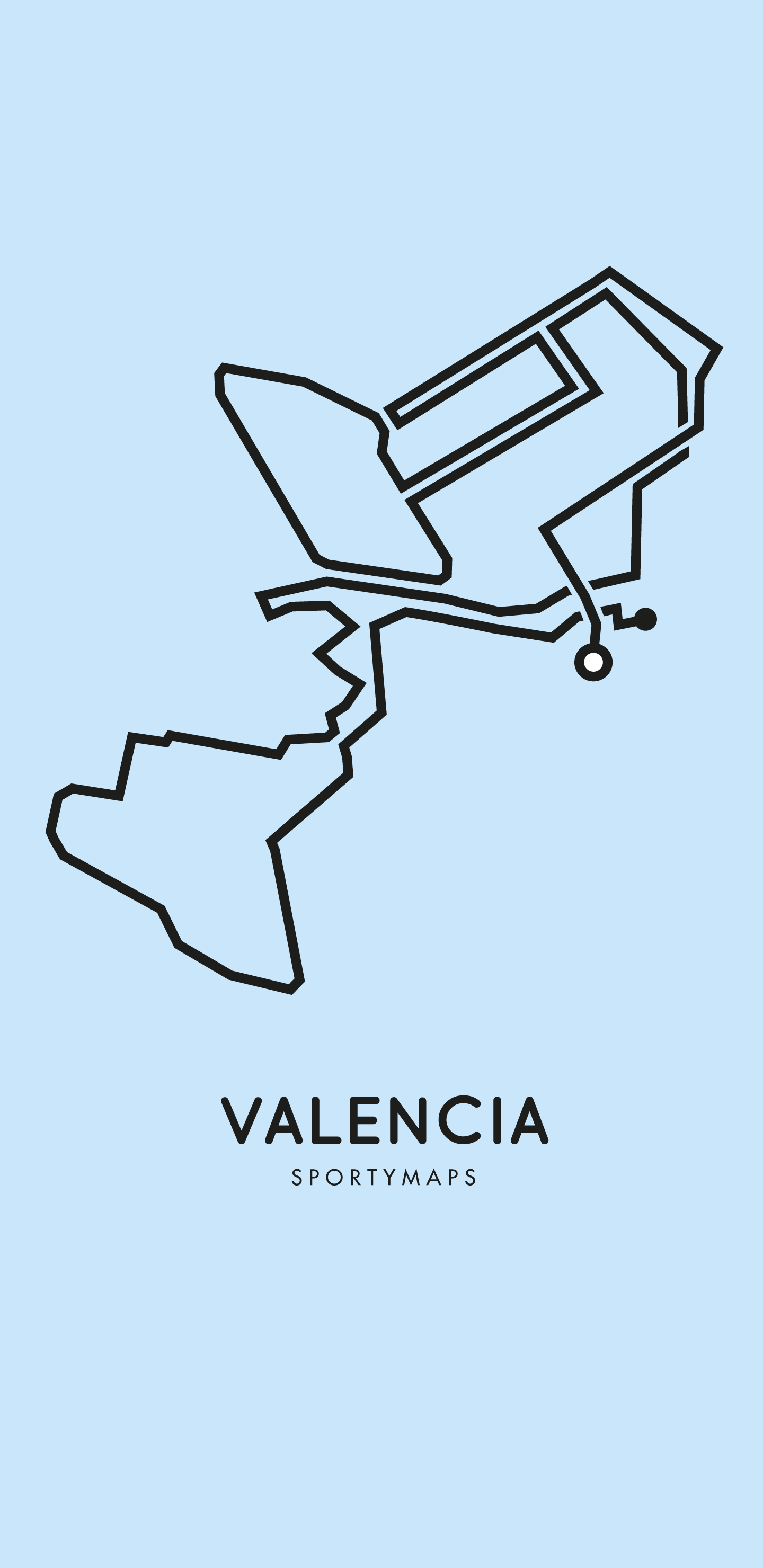 Sportymaps-Valencia-marathon-blue