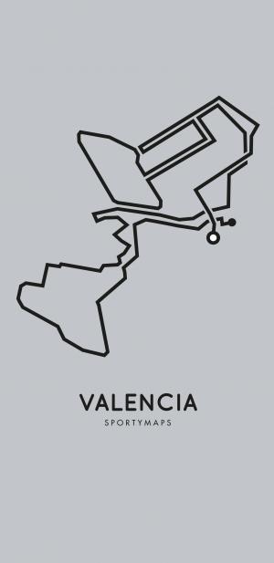 Sportymaps-Valencia-marathon-gray