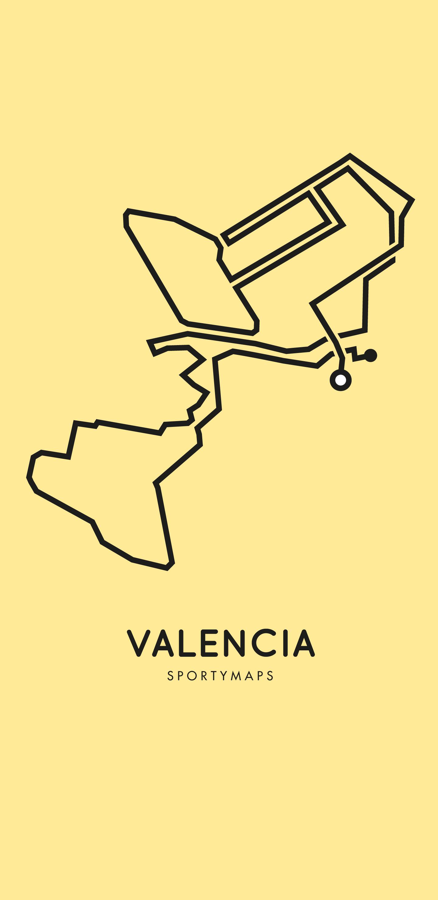 Sportymaps-Valencia-marathon-yellow