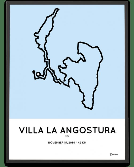 2014 k42 villa la angostura course print