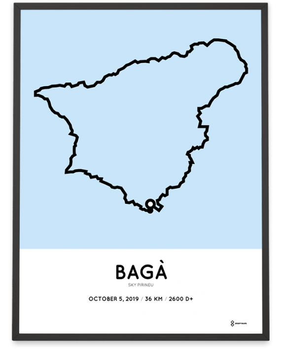 2019 Sky Pirineu course poster