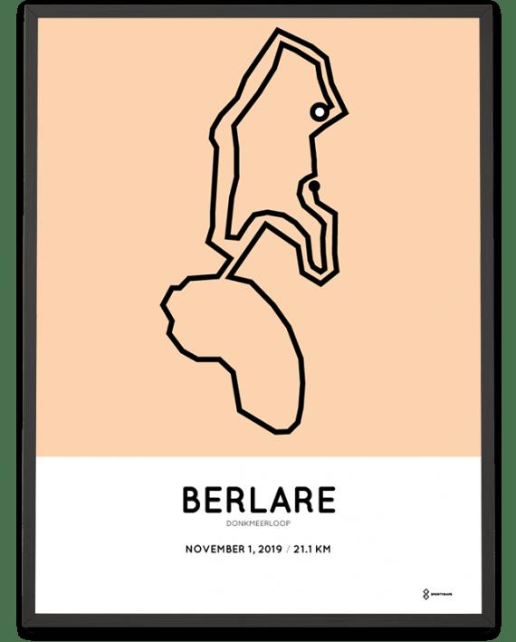 2019 Donkermeerloop parcours print