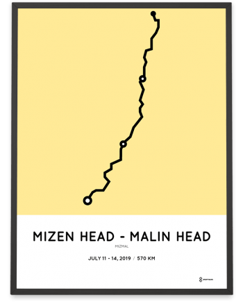 2019 Mizen to Malin MizMal course poster
