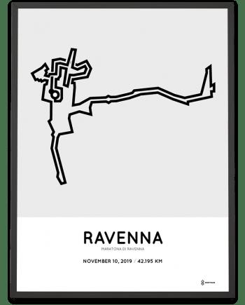 2019maratona di Ravenna course print