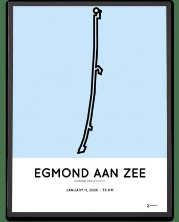 2020 Egmond-Pier-Egmond sportymaps parcours print