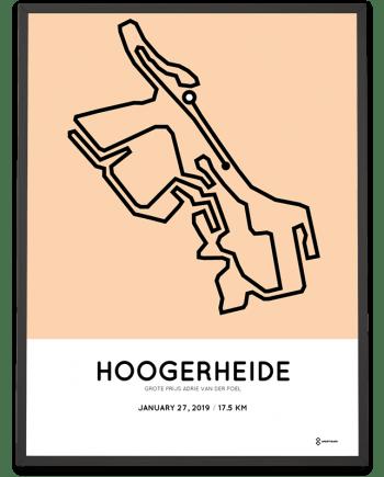 2019 Grote Prijs Adrie van der Poel hoogerheide parcours poster