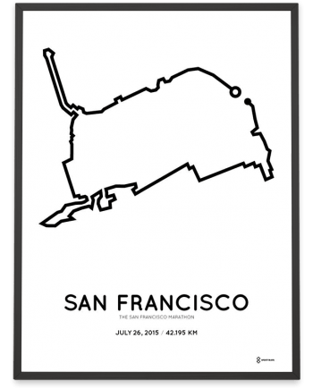 2015 San Francisco marathonermap