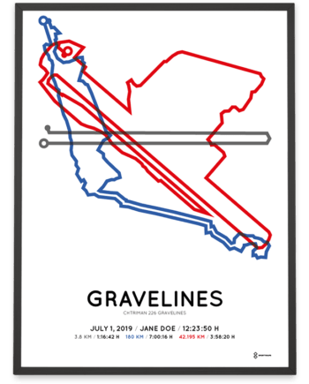 2019 Chtriman 226 Gravelines course poster