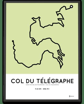 Col du Telegraphe st-michel parcours print