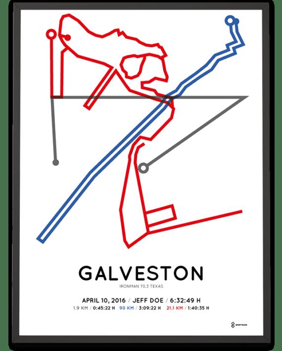 2016 Ironman 70.3 Galveston sprintshot print