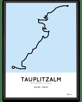 Tauplitzalm course print