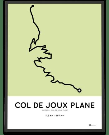 Col de Joux Plane from Samoens parcours print
