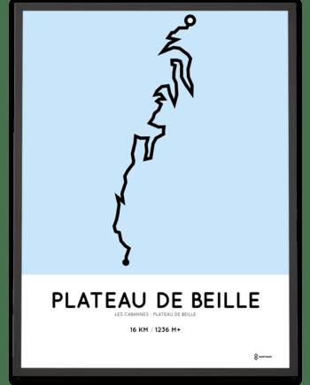 Plateau de Beille from Les Cabannes parcours poster