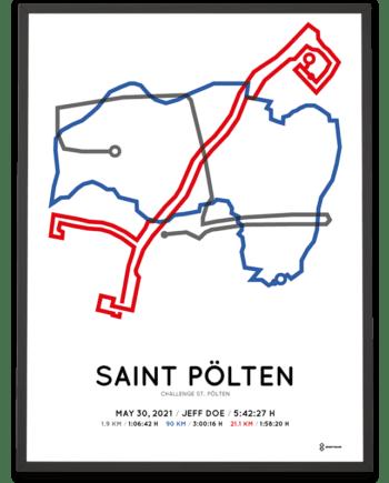 2021 Challenge saint polten course poster