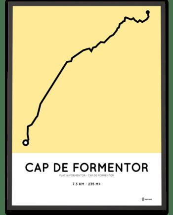 Cap de Formentor course poster